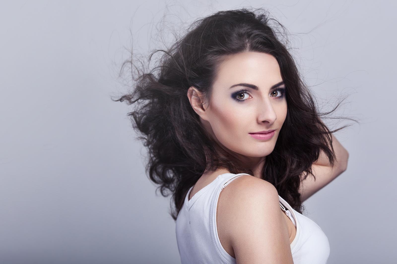 wizaż – Justyna Polska, modelka – Monika Witek, fot. Adam Duraj (2)