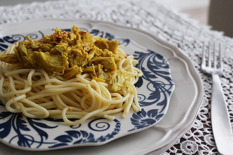 3 bezglutenowe spaghetti z kurczakiem curry 72dpi